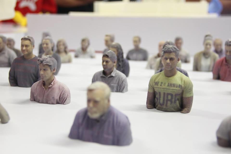 3D printed portraits