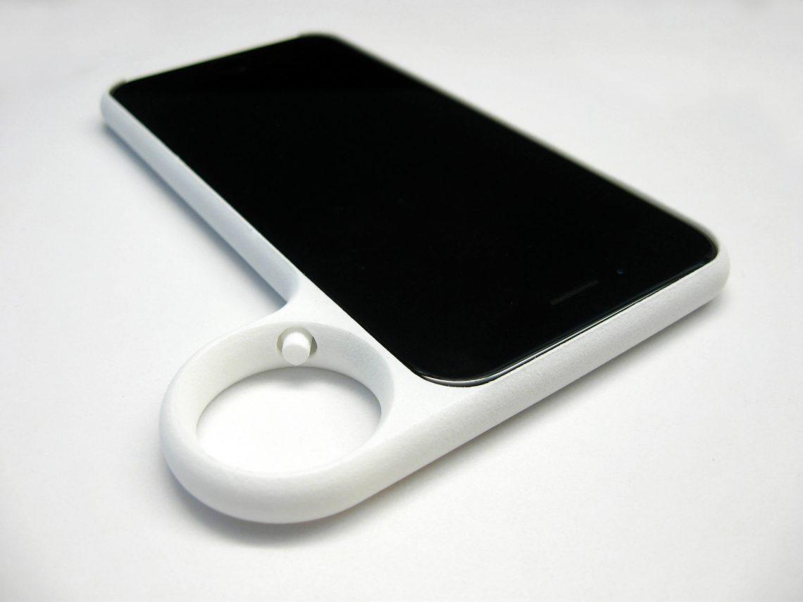 Ringed iPhone 6 case by David Tsai