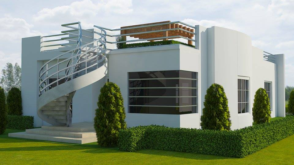 The Genesis 3D printed building being developed by Sunconomy in Austin Texas. Photo curtesy of Sunconomy